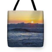 Ocean Wave Kisses The Sun Tote Bag