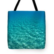 Ocean Surface Reflections Tote Bag