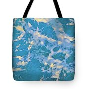 Ocean Water Foaming Tote Bag