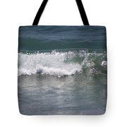 Ocean Wave On The Pacific In Huntington Beach Tote Bag