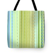 Oceana Stripes Tote Bag by Gina Harrison