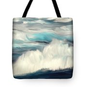 Oceans Blue Tote Bag by Mark Taylor