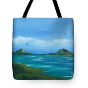 Oceans Islands Tote Bag