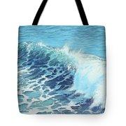 Ocean's Might Tote Bag