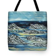 Oceans Of Worlds Tote Bag