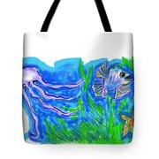 Oceans Wonders  Tote Bag