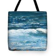 Oceanside 3 O'clock Tote Bag