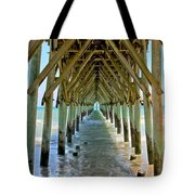 Oceanside Cathedral Tote Bag