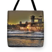 Oceanside Pier Hdr  Tote Bag