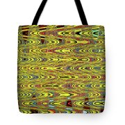 Oceanside Sea Lions On The Dock Abstract #9a Tote Bag