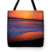 Oceanside Sunset Tote Bag