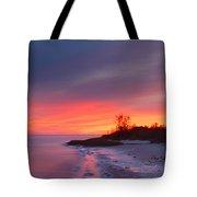 Ochlockonee Bay Sunrise Tote Bag