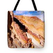 Ochre Pits #3 - West Mcdonald Ranges Tote Bag