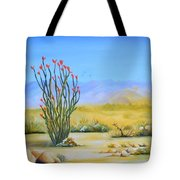 Ocotillo In The Park Tote Bag