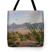 Ocotillo Paradise Tote Bag