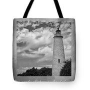 Ocracoke Island Lighthouse Poster Tote Bag