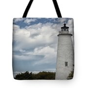 Ocracoke Island Lighthouse Tote Bag