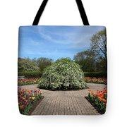 Octagon Garden At Cantigny Park Tote Bag
