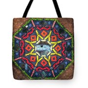 Octagon Tote Bag by James Billings