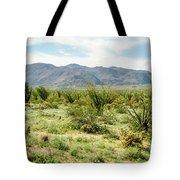 Octillo Field Tote Bag