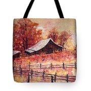 October Barn Tote Bag