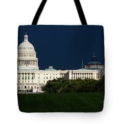 October Capitol Tote Bag