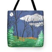 October Evening Tote Bag