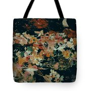 October Flowers By Night Tote Bag