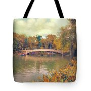 October In Central Park Tote Bag