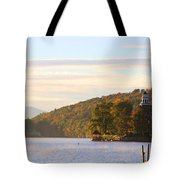October Landing Tote Bag by Michael Mooney