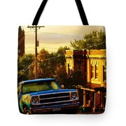 October Light In Duluth Tote Bag