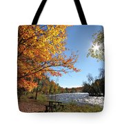 October Light Tote Bag