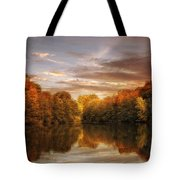 October Lights Tote Bag