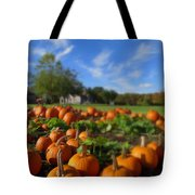 October Postcard  Tote Bag