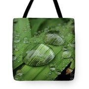 Big Drops Of Rain Tote Bag
