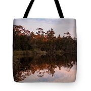 October Reflections On The River Tote Bag