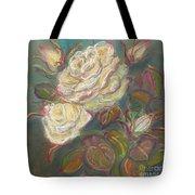 October Rose Tote Bag