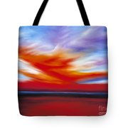 October Sky II Tote Bag