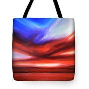 October Sky V Tote Bag
