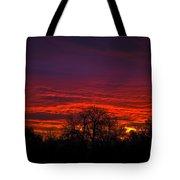 October Sunrise 2 Tote Bag