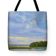 October Sunrise Tote Bag