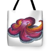 Octopus Dance Tote Bag