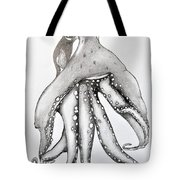 Octopus Of The Sea Tote Bag