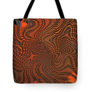 Octopus Red Tote Bag