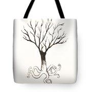 Octopus Tree Tote Bag