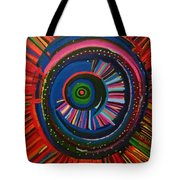 Ocular Energy Path Tote Bag by Daina White