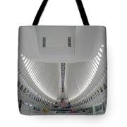 Oculus World Trade Center Wtc Transportation Hub Tote Bag