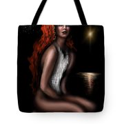 Odalisque Of Serenity  Tote Bag