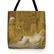 Odalisque With Slave Tote Bag