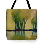 Odd Little Trees Tote Bag by Michelle Abrams